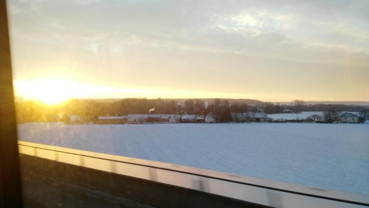 sunrisefromthebus