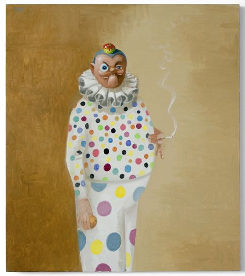 george-condo-clown