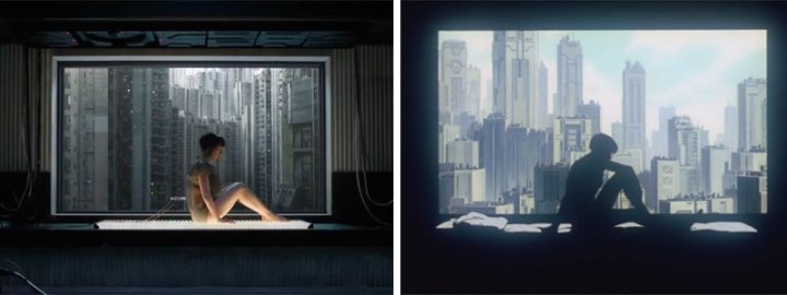 ghostintheshell-trailer-comparison
